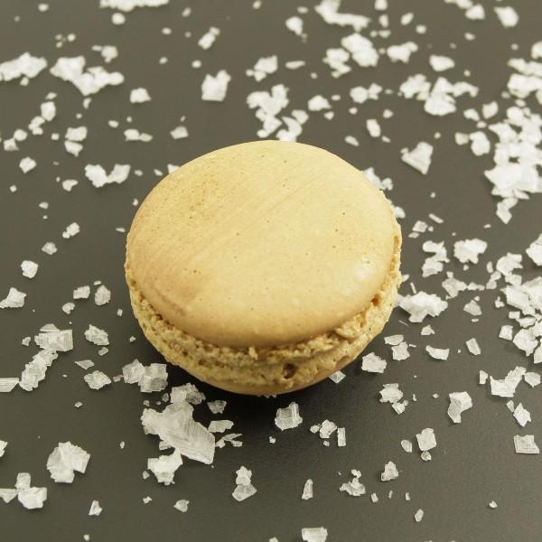 Macaron caramel fleur de sel