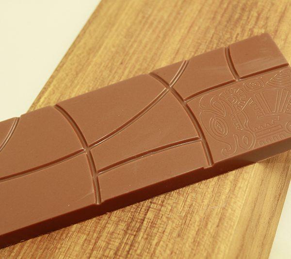 Tablette chocolat au lait au caramel