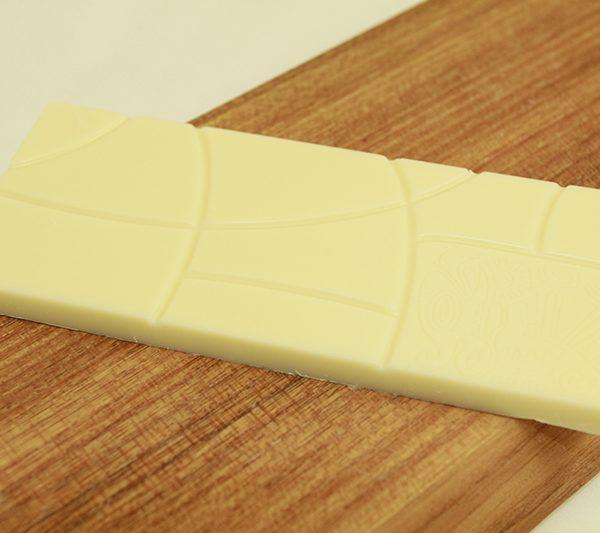 Tablette au chocolat blanc et vanille