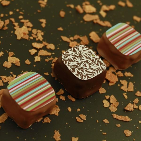 Feuilletine (chocolat au lait ou chocolat noir)